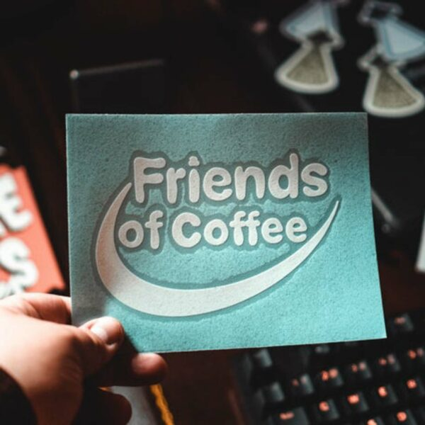 Friends of Coffee Decal