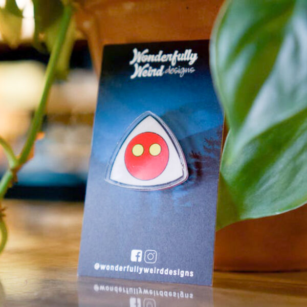 Flatwoods Monster Simple Acrylic Pin