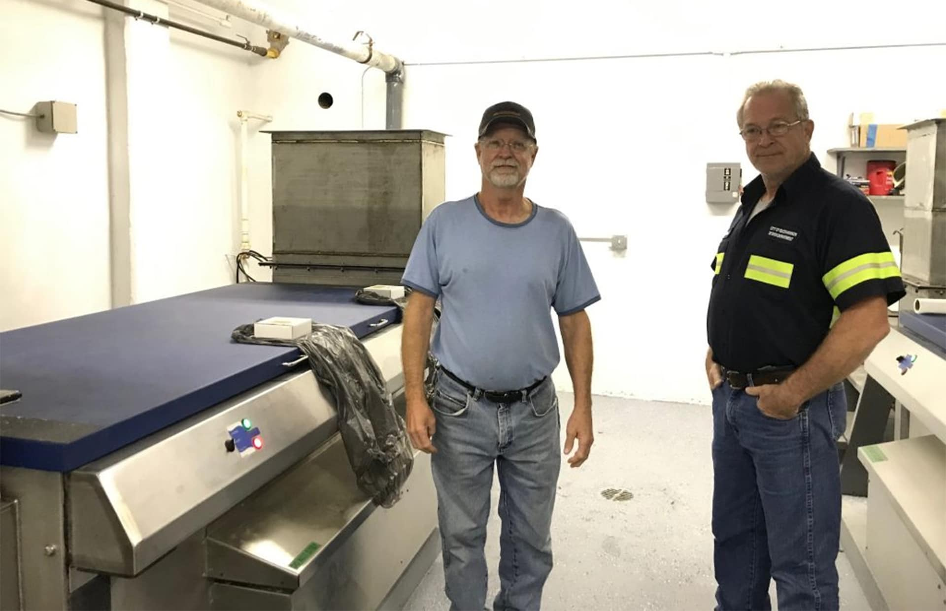 New ultra-violet disinfection equipment installed at Sam Ludlow Sewer Plant in Buckhannon