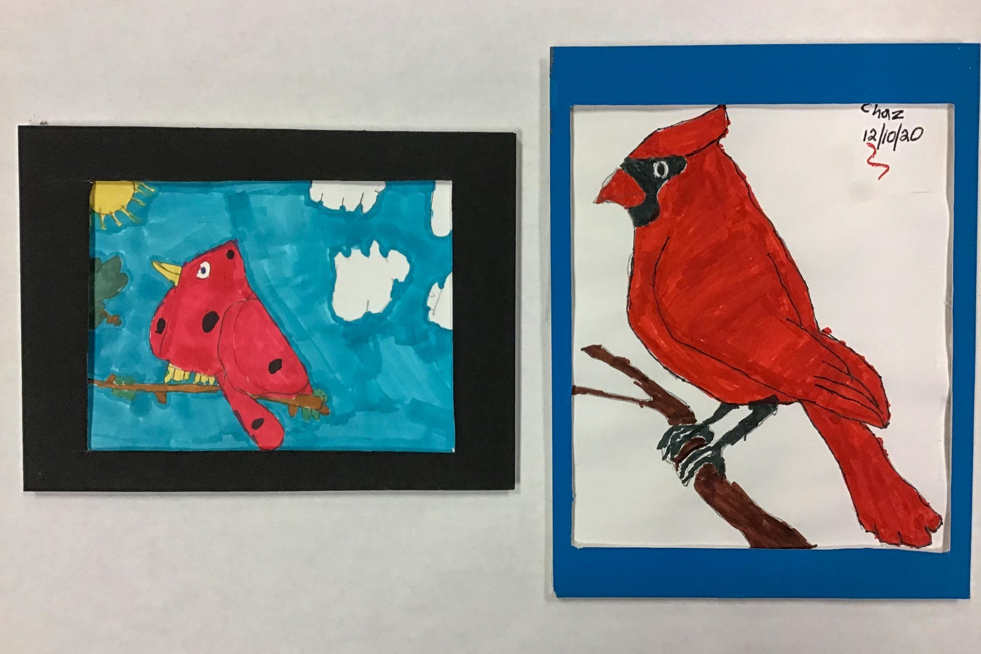 Hodgesville Elementary School students' artwork selected for display in governor's 'Almost Heaven' art exhibition