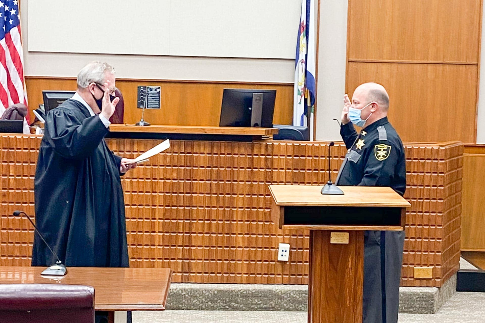 Coffman moves from magistrate to Upshur County sheriff's chief deputy