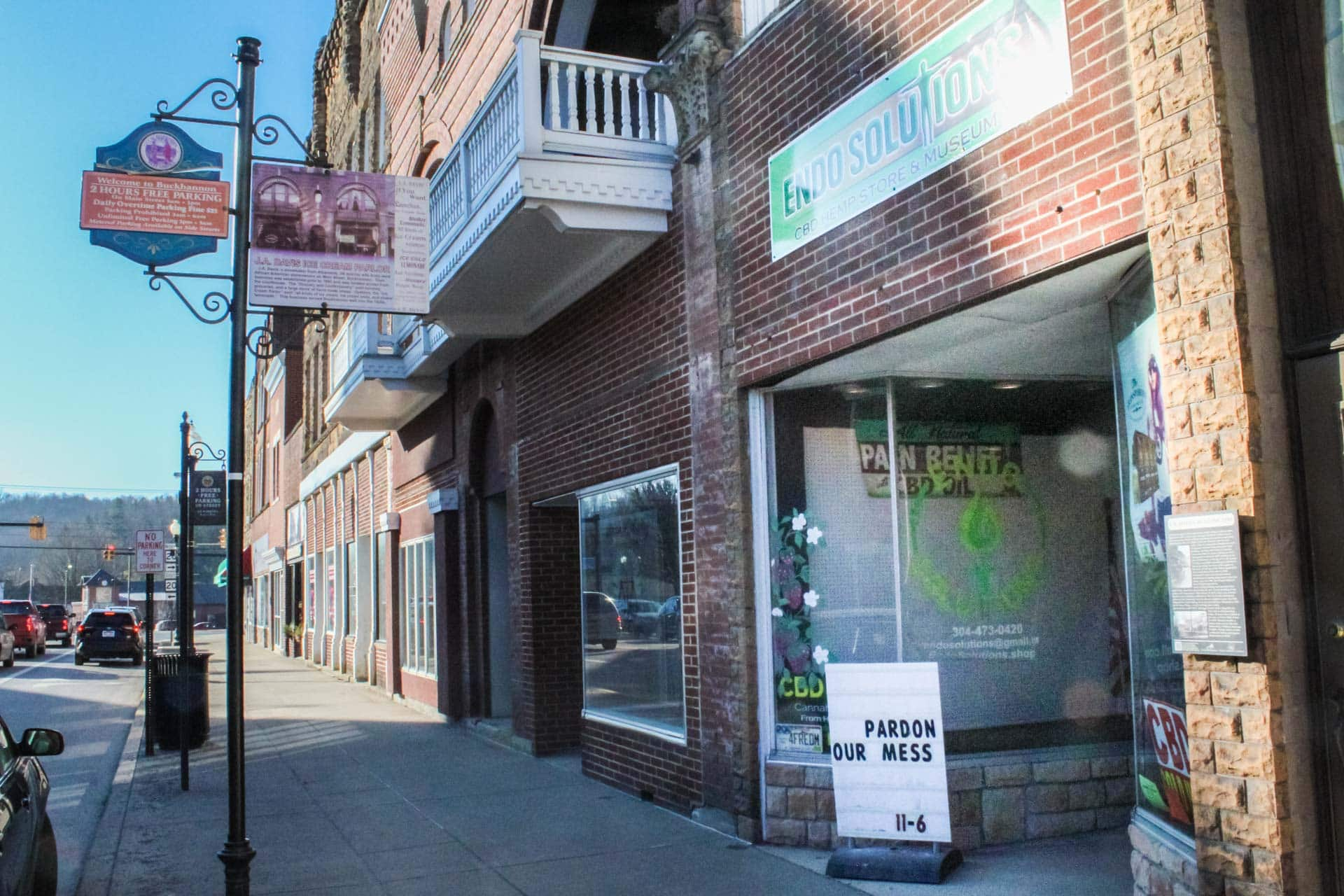 The new Endo Solutions location at 15 W. Main Street, across from the Upshur County Courthouse.