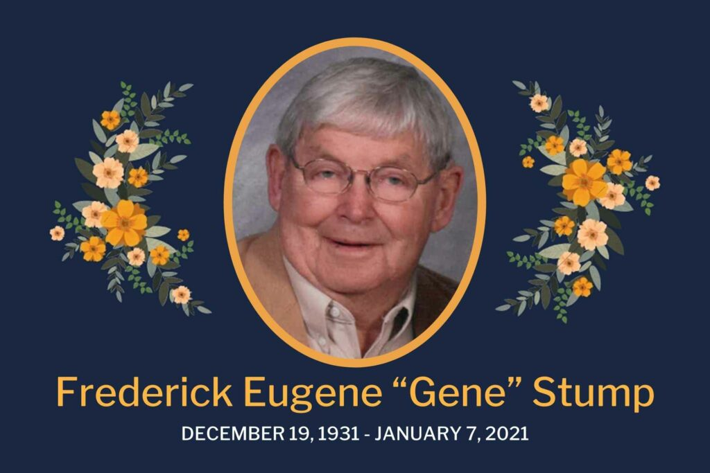 Obituary Gene Stump