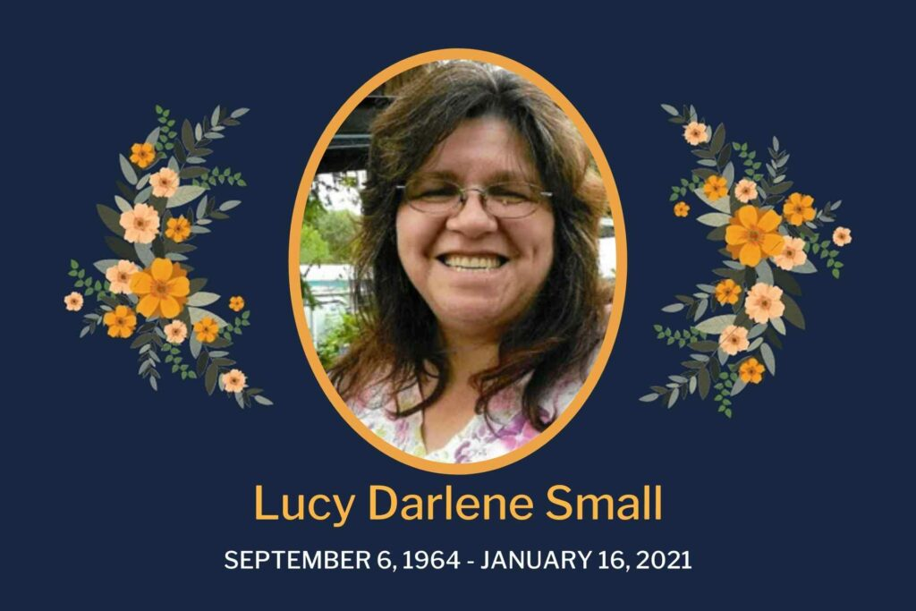 Obituary Lucy Small
