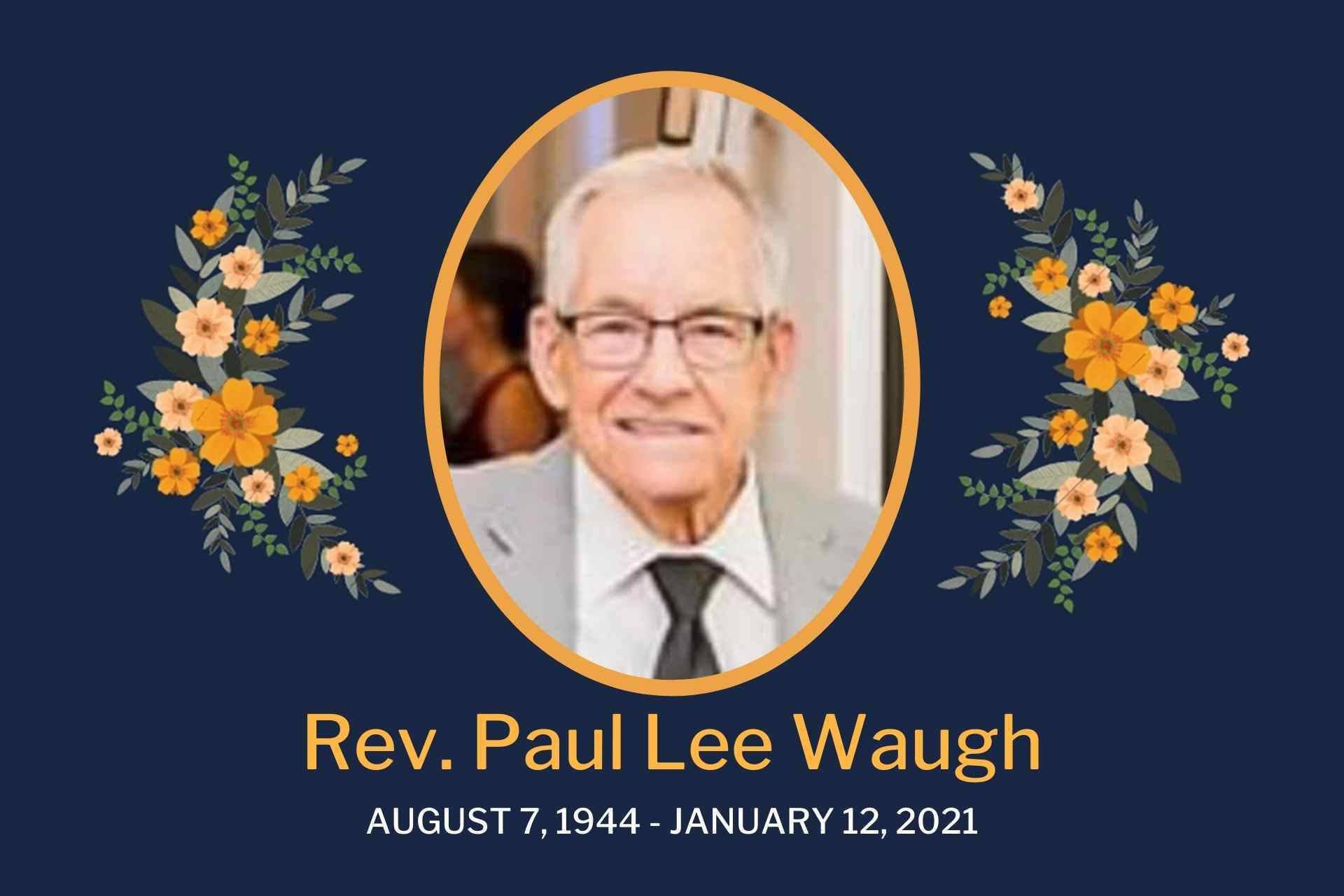 Rev. Paul Lee Waugh