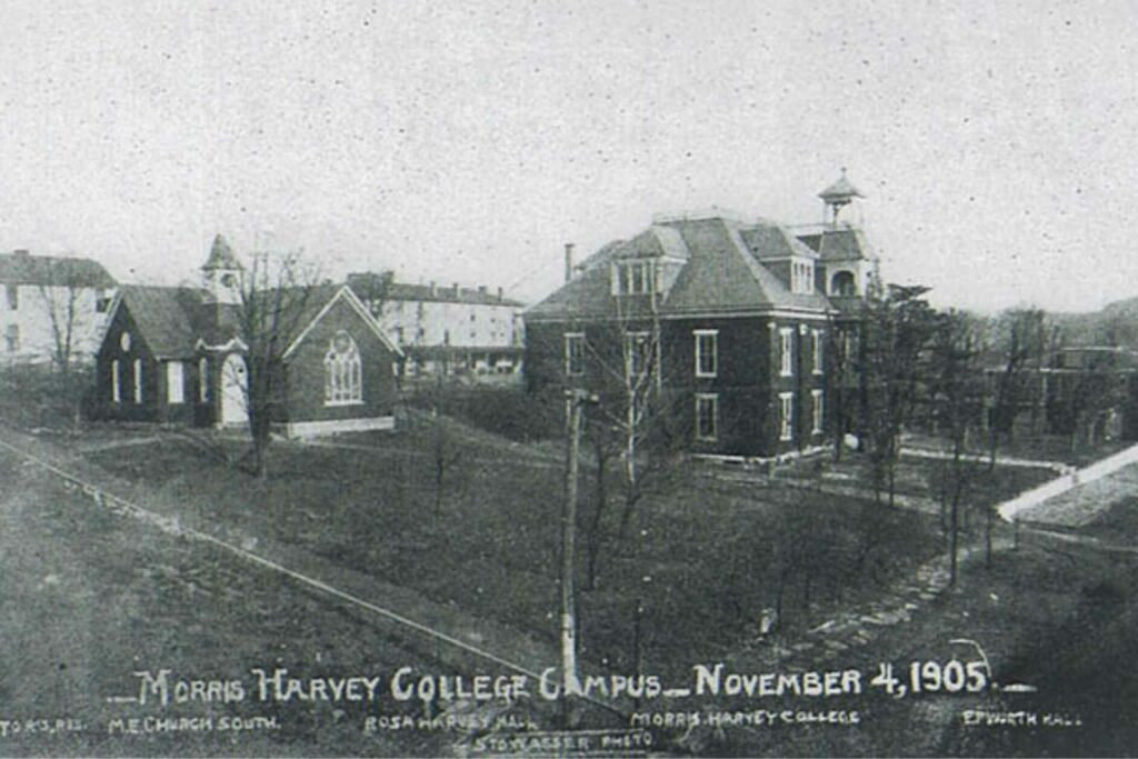 Morris Harvey College in 1905, now the University of Charleston