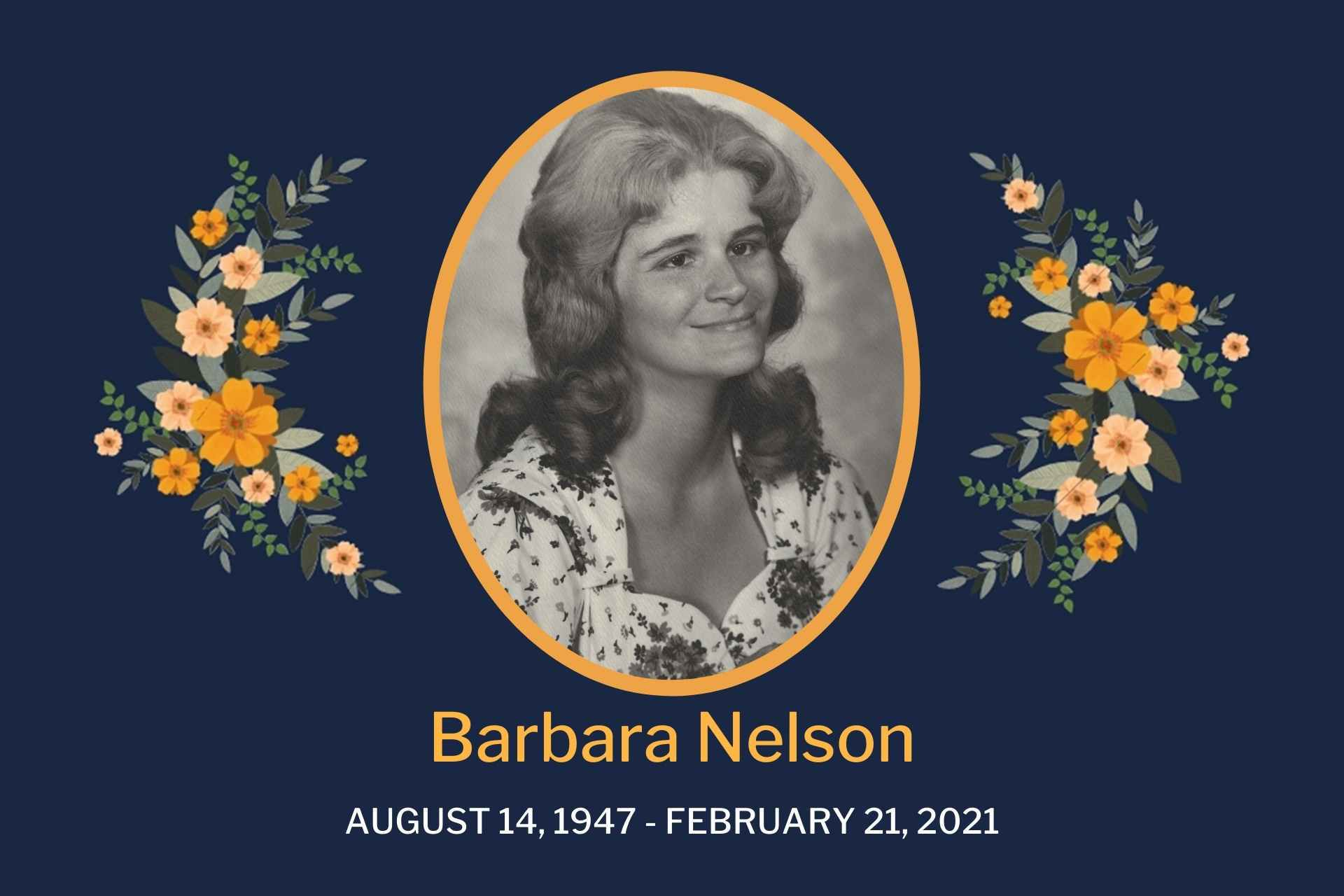 Obituary Barbara Nelson