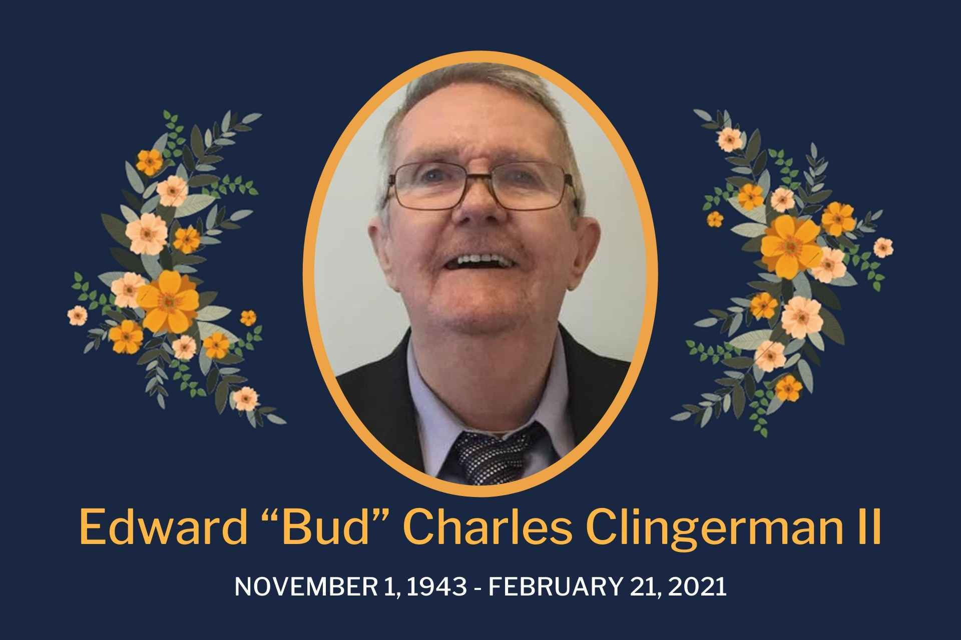 """Edward """"Bud"""" Charles Clingerman, II, age 77, of Volga, WV, died Sunday, February 21, 2021, at his caregiver's house in Roanoke, WV. He was born November 1, 1943, in Randolph County, WV, a son of the late Edward Charles Clingerman and Marie Daniels Ashe. On June 22, 1994, he married Terry Hicks Clingerman who survives of Volga. Also surviving are his sister-in-law, Therese Hicks of Jane, Lew, WV; caregivers, Michelle Jamison and Shelly Dawn's Personal Care Family of Roanoke, WV; special children, his girl Calee and his boys Charles and Phillip all of Roanoke; special friend, Robin Criss and staff at the Caring Manor of Buckhannon and nephews, Josh Hicks and James Fogg both of Jane Lew. In addition to his parents, he was preceded in death by his stepfather, John Ashe and former wife, Dorothy """"Dotty"""" Koon. Mr. Clingerman worked as a Rig Hand for Union Drilling and was a Baptist by Faith. He was a longtime supporter of the Hacker's Creek Coon Club and American Blue Gascon Assoc. He was a member of the BBCHA and wrote articles for Full Cry. He was a 35-year member of AA as well as a substance abuse counselor. The family would like to extend a special thank you to his caregivers Phil and Michelle Jamison and family. Friends will be received Saturday, February 27, 2021 from 11 AM to 1 PM at the Poling-St. Clair Funeral Home. A funeral service will be held 1 PM Saturday at the funeral home with Pastor Chris Cosner officiating. Burial will follow in the Lanham Cemetery in Queens, WV. Online condolences may be made to the family at www.polingstclair.com. Poling-St. Clair Funeral Home is in charge of the arrangements."""