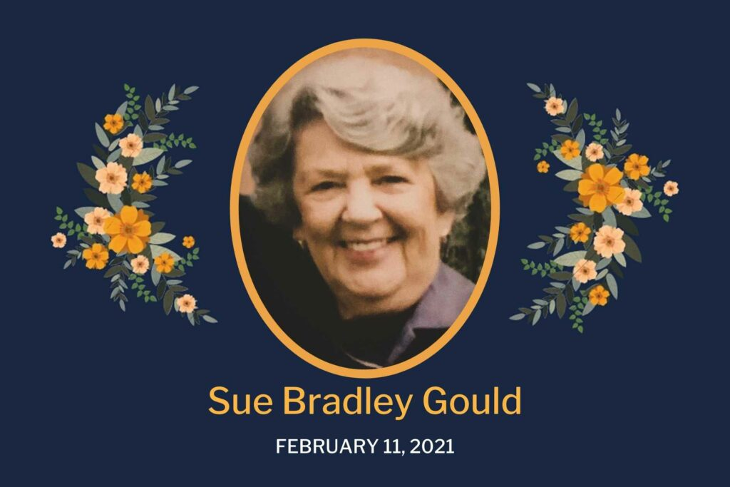 Obituary Sue Gould