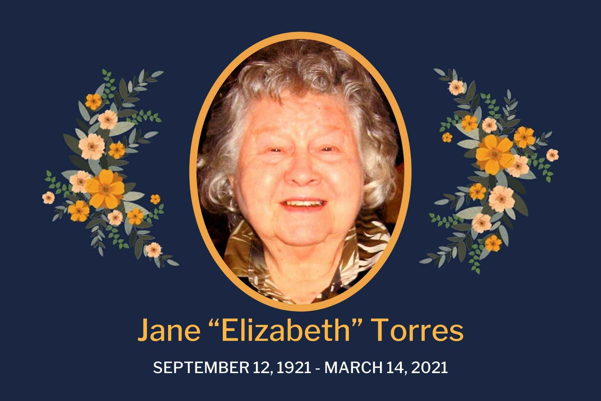 Obituary Jane Torres