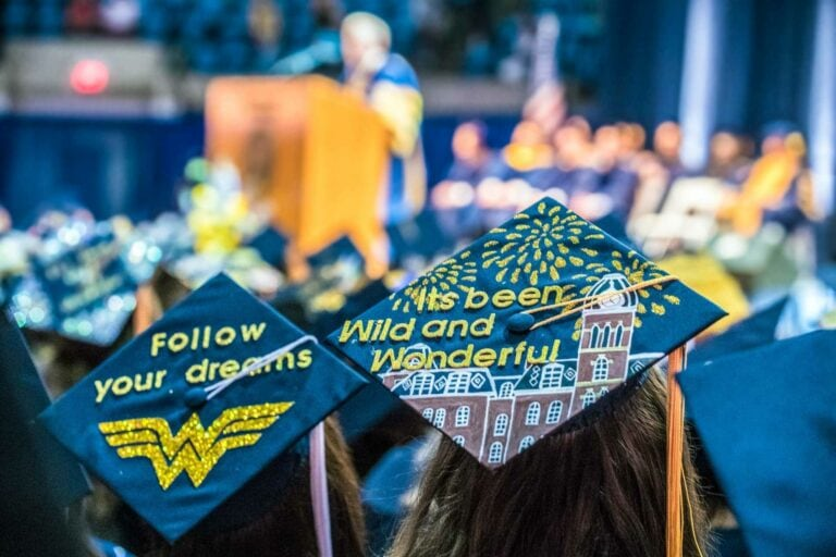 WVU FirstGen has joined the First Scholars Network to help guide first generation college students to be successful from their first day on campus to commencement. (WVU Photo)